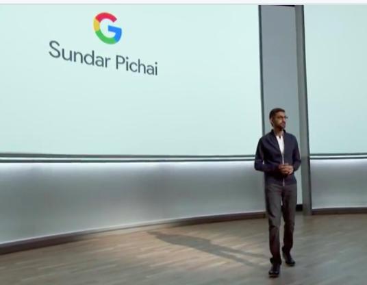 Il Ceo Sundar Pichai illusta l'era AI First