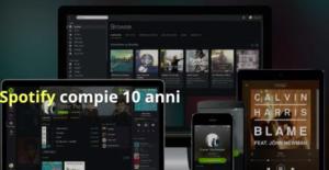 I primi 10 anni di Spotify