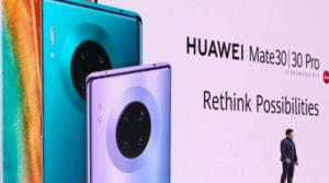 I nuovi Huawei Mate 30 e 30 Pro, senza le apps di Google